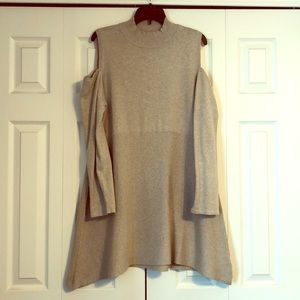Style & Co open shoulder tunic sweater